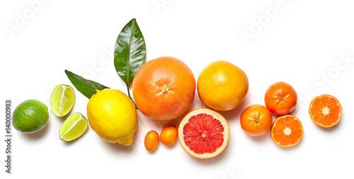 Foto Murales various citrus fruits