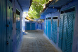chefchaouen blue city of morocco streets