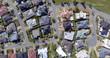 Aerial view of an Australian suburb
