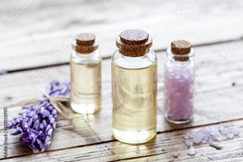 Foto op Canvas Spa Spa concept on wood background