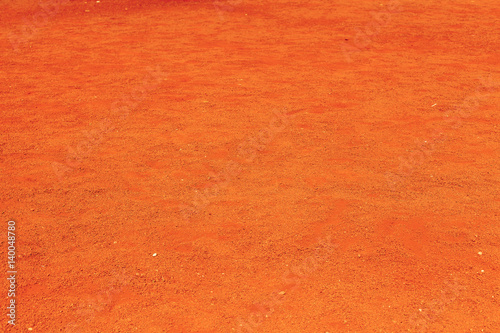 Foto Murales sol terre rouge