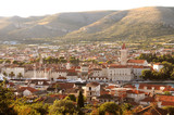 Panoramic view of City Trogir, Croatia. - 140053753