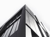 Architecture detail Modern Facade building Black and White - 140059702
