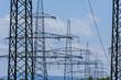 Stromasten einer Hochspannungsleitung - 140064593