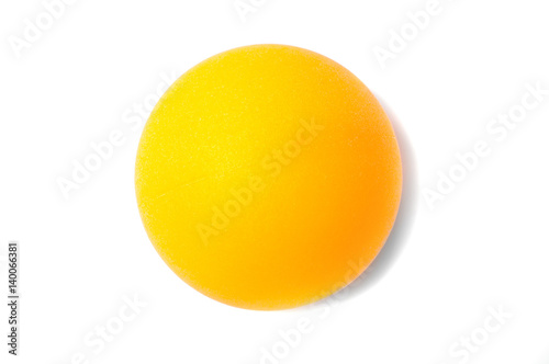 Fotobehang Tennis Table tennis ball, for ping pong close up