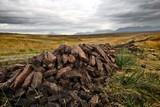 Drying turf stack