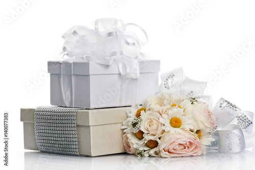 beautiful wedding composition