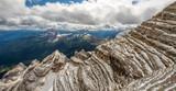Panorama from Le Tofane mountain, Dolomites