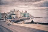 Cuba cityscape from Havana Malecon