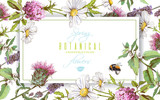 Herbal horizontal banner - 140116301