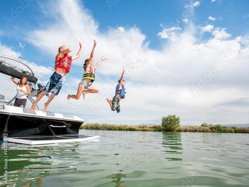 Letnie łódki