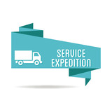 Logo service expédition. - 140133300