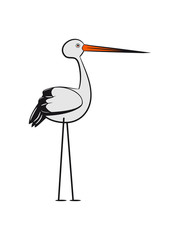 Storch stylized design