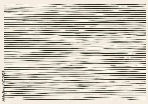 Paper cut nieregularny wzór linii
