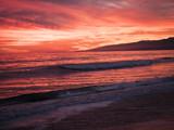 Santa Monica Beach Sunset - California