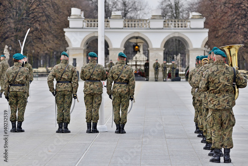Tomb of the Unknown Soldier. Poland Warsaw