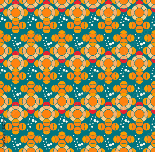 Fabric design, Seamless pattern with fish