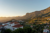 Sunset in Tejeda, Gran Canaria, Canary Islands, Spain