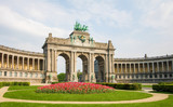 Brussels - Parc du Cinquantenaire in the European Quarter