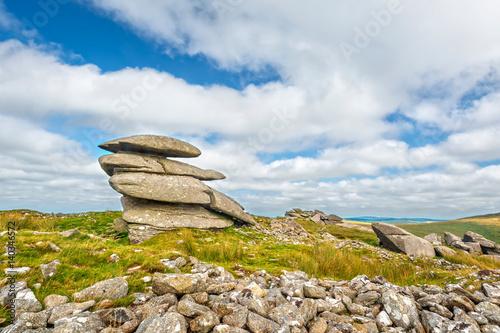 Poster Rough Tor in Bodmin Moor