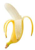 Fresh tasty banana on a white background, isolated. High quality photos - 140351121
