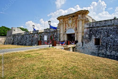 Fotobehang Havana Fortaleza de San Carlos de la Cabaña, Havanna