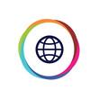 Abstract  Multicolor  App  Button