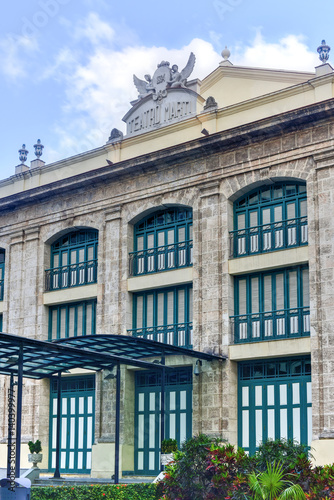 Spoed canvasdoek 2cm dik Havana Marti Theater - Havana, Cuba