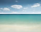 Beautiful sandy beach - tropical paradise