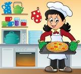 Female cook theme image 7