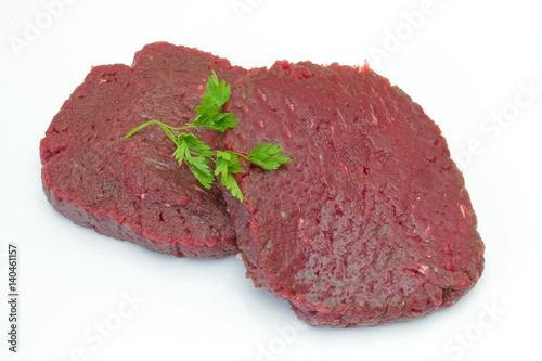 Papiers peints Steakhouse steaks de cheval