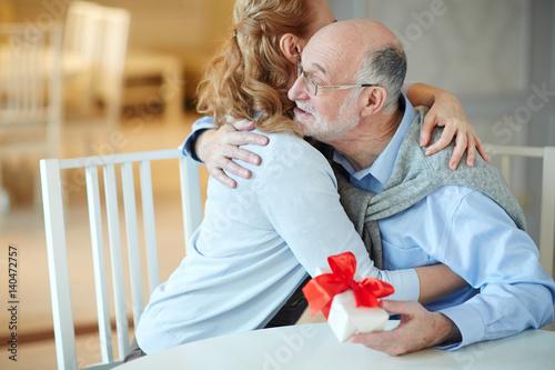 Loving mature couples