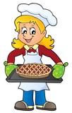 Female cook theme image 8