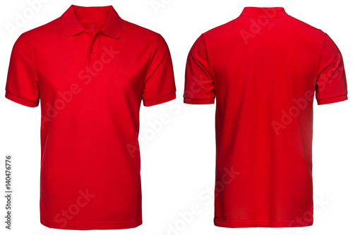 mata magnetyczna Red Polo shirt, clothes