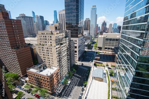 Foto op Plexiglas New York TAXI Manhattan