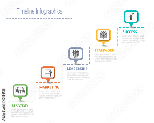 Business overview visualization timeline infographic data business business overview visualization timeline infographic data business template for presentation wajeb Images
