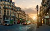 Szeroka ulica w Paryżu