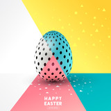 A easter Egg abstract design. Vector illustration
