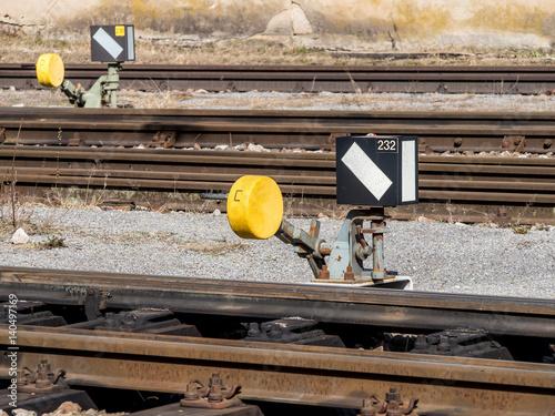 Poster Schienenstrang