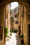 Old town of Korcula, Croatia. Traveling, vacation, tourism concept. - 140528714