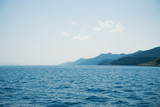 Beautiful seascape of Adriatic. Traveling, yachting, vacation concept.