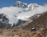 The snowy peaks, Nepal