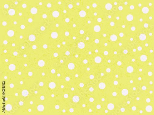 Stoffe zum Nähen Cute Polka Dots gelb Hintergrund