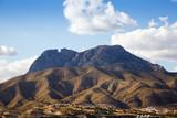 mountains landscape near Benidorm