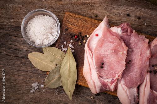 pork raw meat
