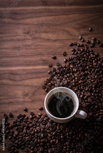 Poster  ホットコーヒー