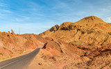 Landscape of Dades Valley in the High Atlas Mountains, Morocco
