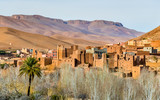 Traditional Kasbah fortress in Dades Valley in the High Atlas Mountains, Morocco