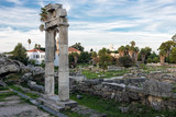 The archaeological site of Ancient Agora in Kos, Greece - 140670516