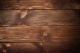 dark old grunge vintage wood panels used as background